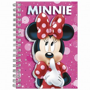 Notes spiralny A6 Minnie